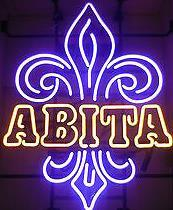 New Abita verre Neon Sign Light Bar Beer Pub Sign Arts Artisanat Cadeaux Eclaira