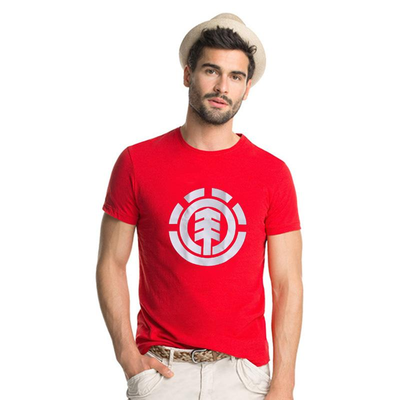 Fashion element men t shirts casual wear short sleeve for Start an online t shirt business at zero cost