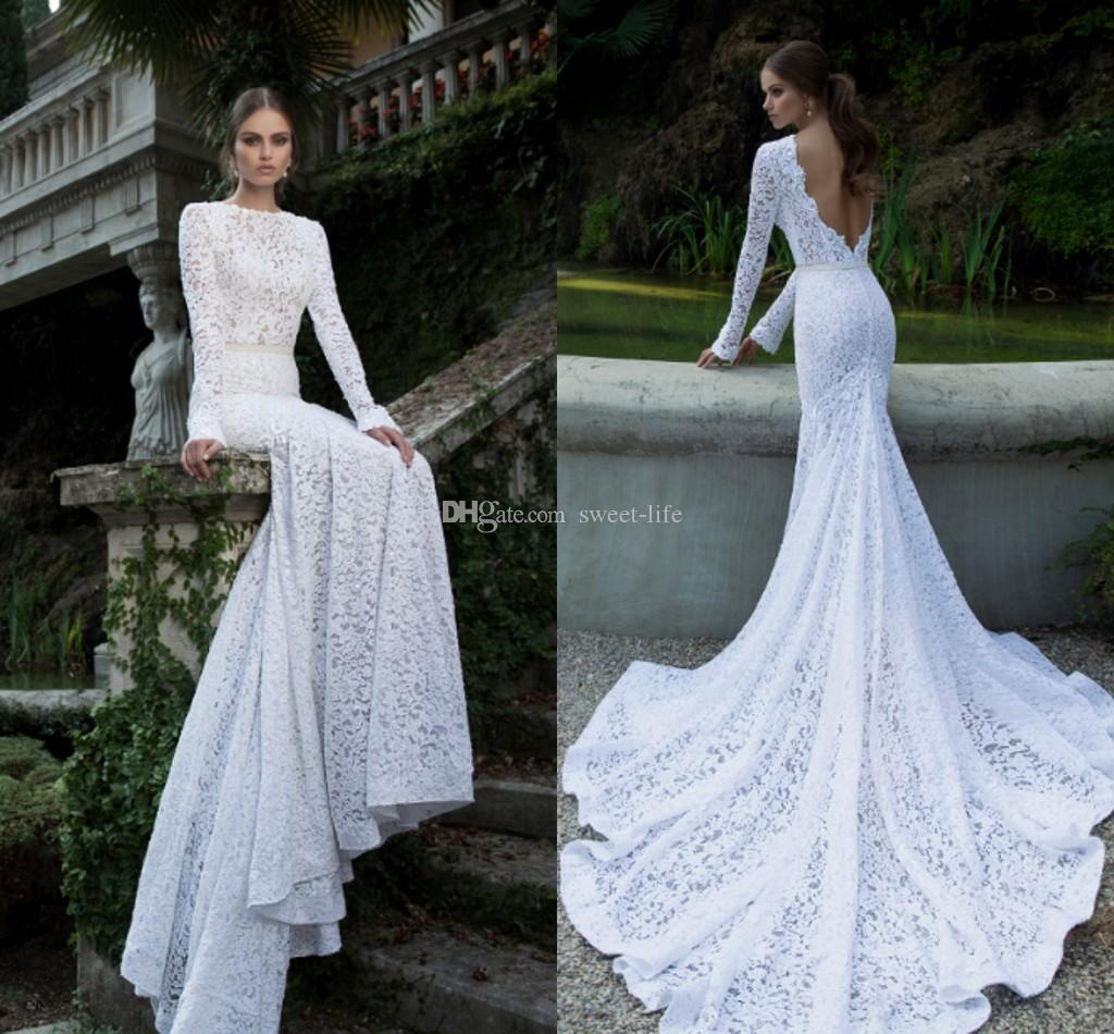 Elegant Lace Mermaid Wedding Dresses