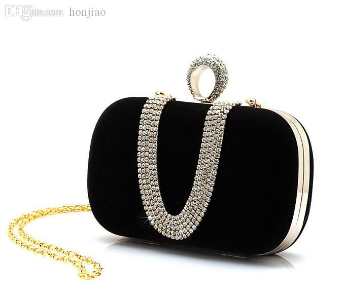 Wholesale New !! Ladies' Clutch Knuckle Rings Evening Bags , Party ...