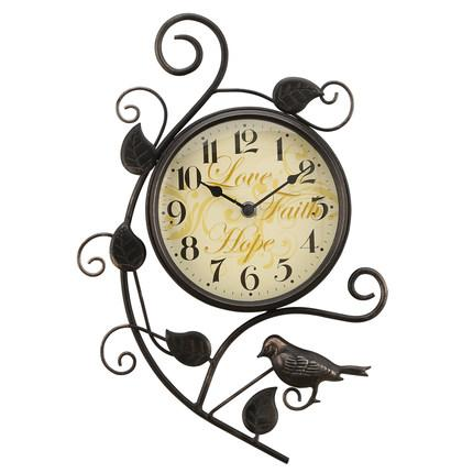 Modern Creative Personality Magpie Wall Clock European Style Large