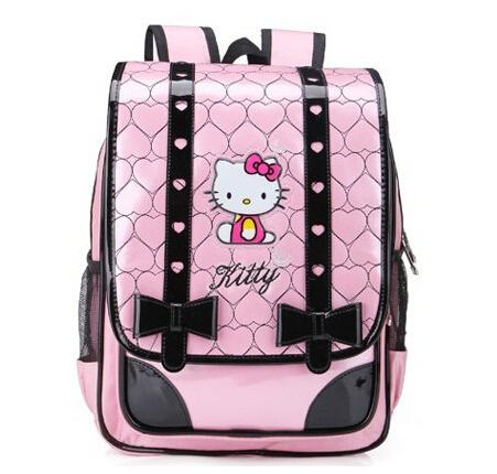 hello kitty girls school bags backpack sweet princess