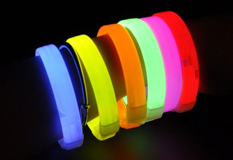 new multicolor luminescent bracelet fluorescent bracelet for concert night run fluorescent. Black Bedroom Furniture Sets. Home Design Ideas