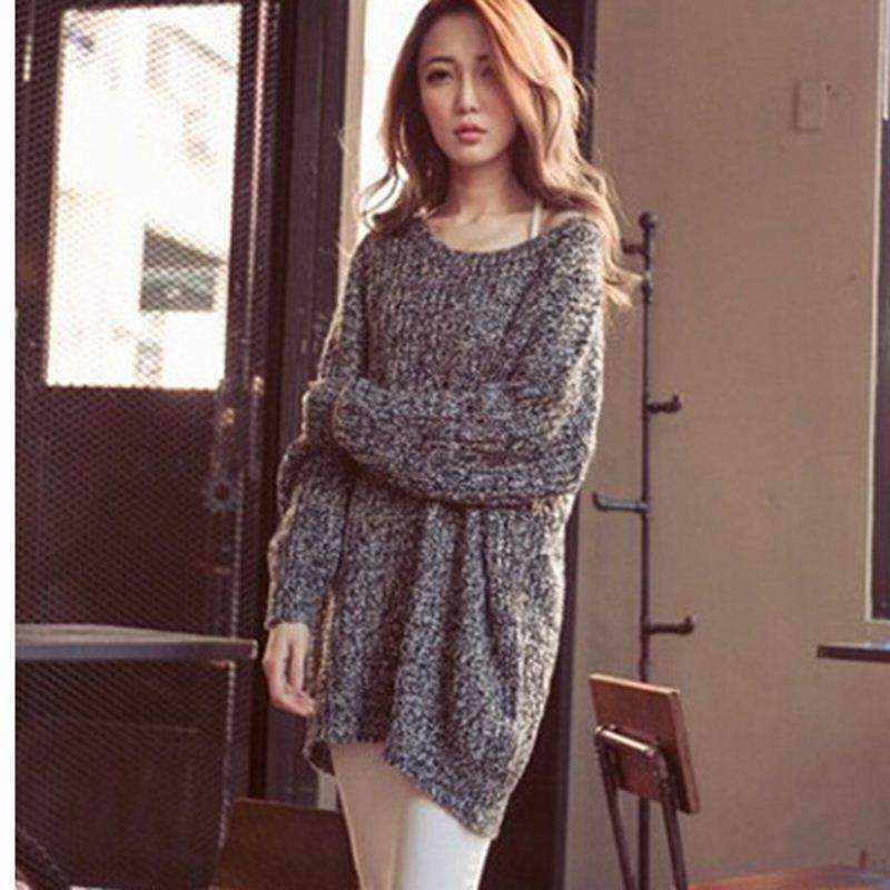 Oversized Jumper Knitting Pattern : New Hot Women Oversized Knitted Sweater Batwing Sleeve Tops Cardigan Loose Ou...