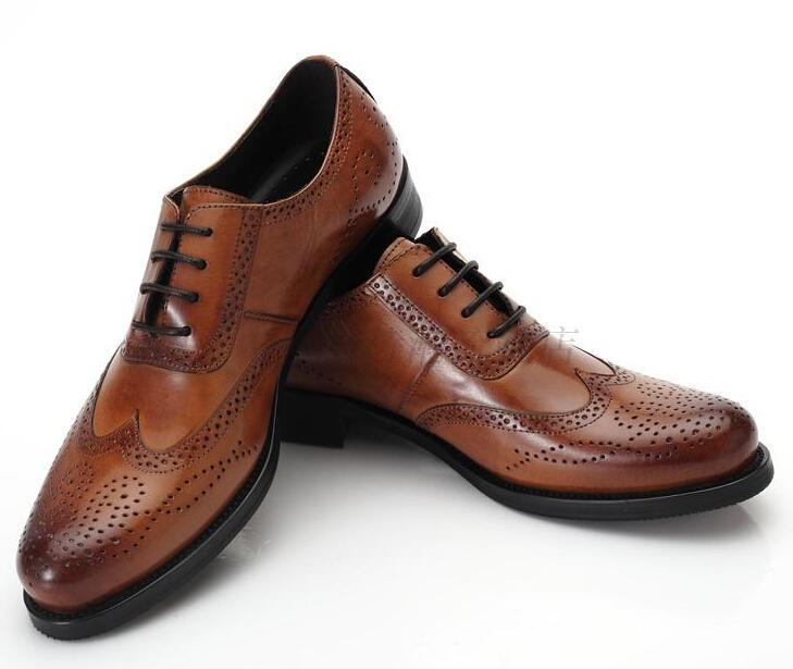 Mens Brown Dress Shoes With Suit