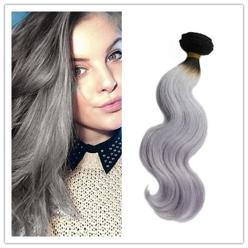 10 34inch beauty silver grey hair extensions hair human grey hair 10 34inch beauty silver grey hair extensions hair human grey hair weave body wave virgin brazilian gray hair extension gray hair extension gery ombre hair pmusecretfo Choice Image