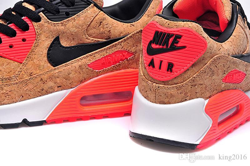nike wmns air max 90 anniversary pack bronze infrared cork