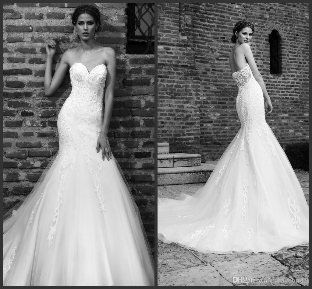 Glamorous Mermaid Wedding Dresses 2016 Bien Savvy