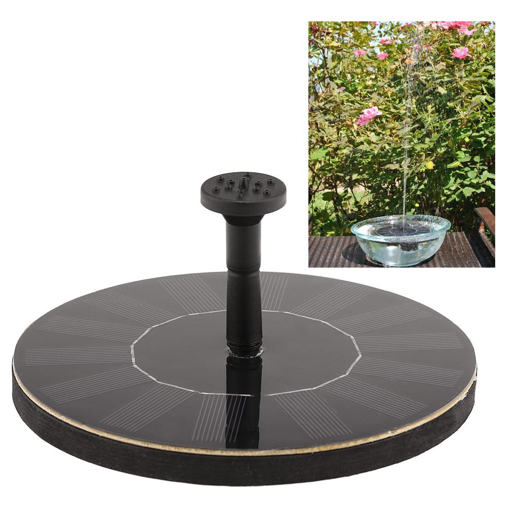Solar Power Fountain Brushless Pump Plant Water Watering Kit  Monocrystalline Solar Panel For Bird Bath Garden Pond Energy Saving H14945