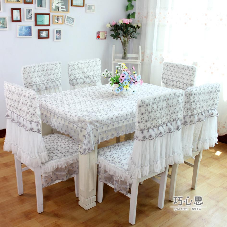 dining table cloth cushion chair cover tables and chairs fabric set
