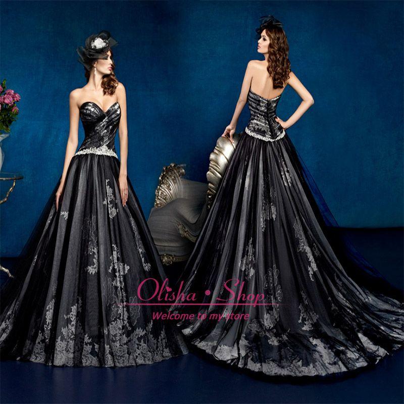 Blue gothic wedding dress fashion dresses for women 39 s for Blue gothic wedding dresses