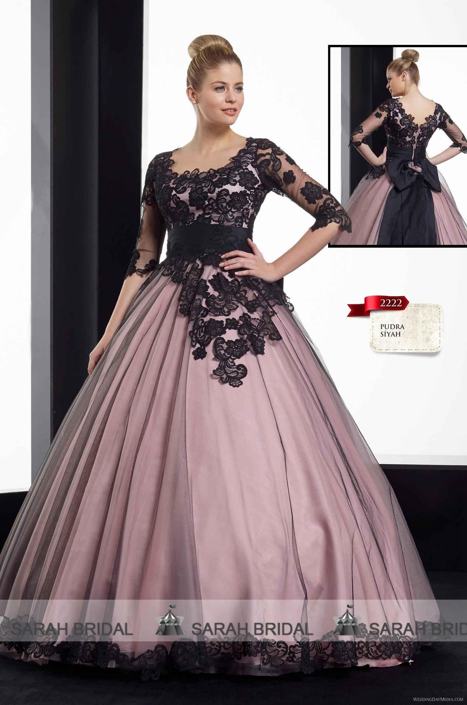 Vestido De Noiva Black Wedding Dresses Ball Gown Designer 2015 ...