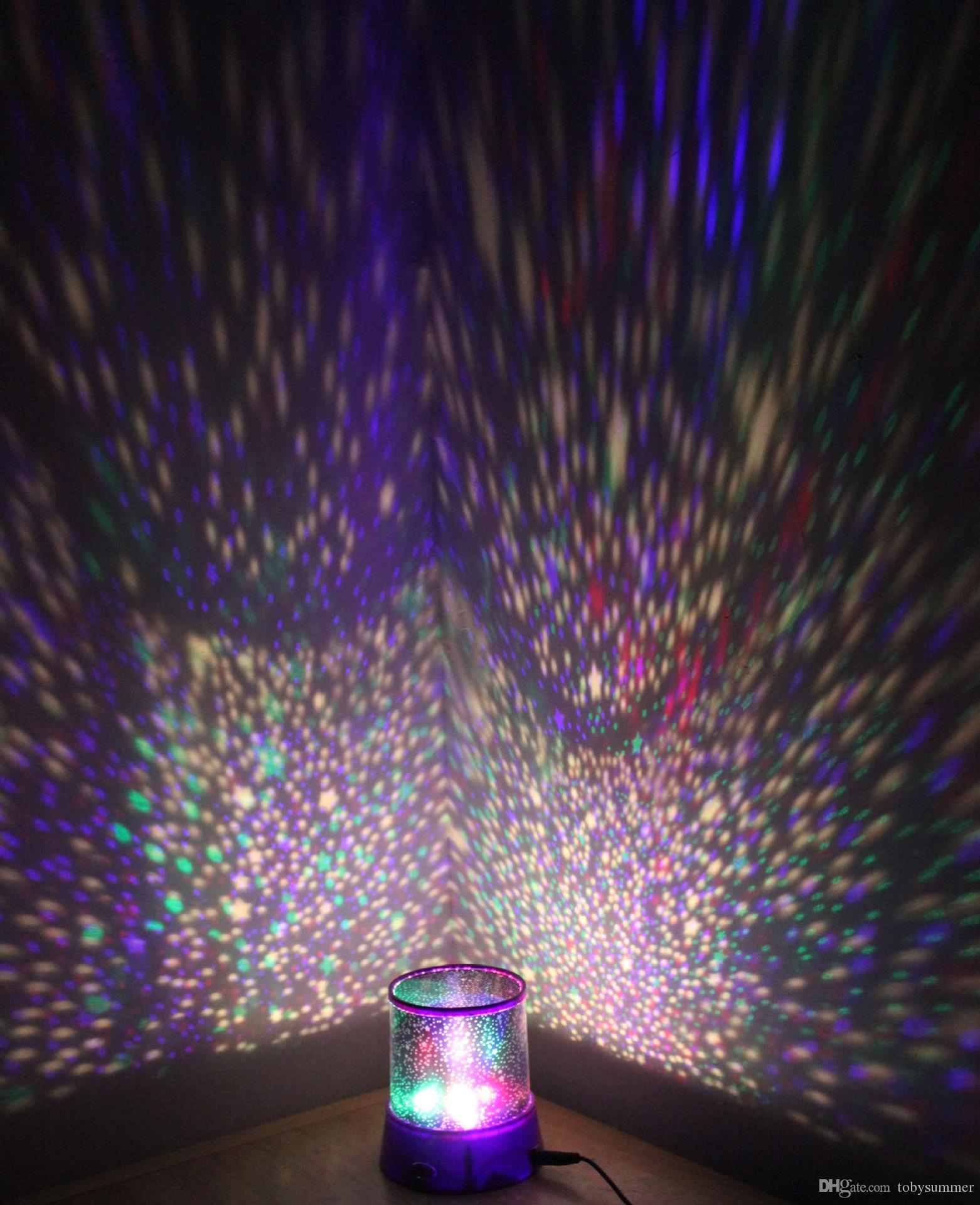 Star projector lamp night - 2015 New Fantastic Celestial Sky Star Projector Lamp Night Light Funny Diy Romantic Valentine S Day Gift