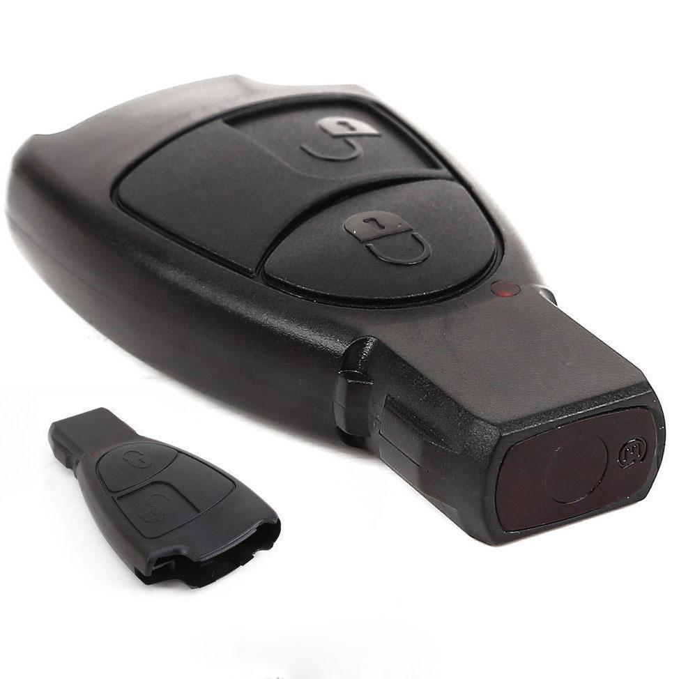 2 buttons replacement remote key fob case for mercedes for Mercedes benz key fob replacement cost