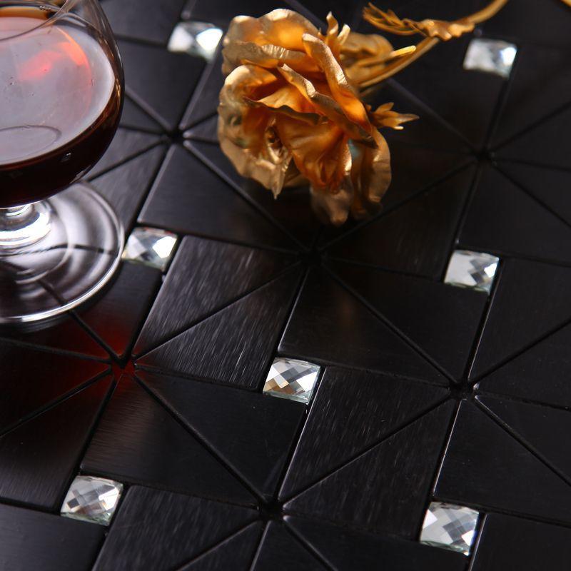 Best Modern Black Kitchen Backsplash Tile Bathroom Wall Tiles ...