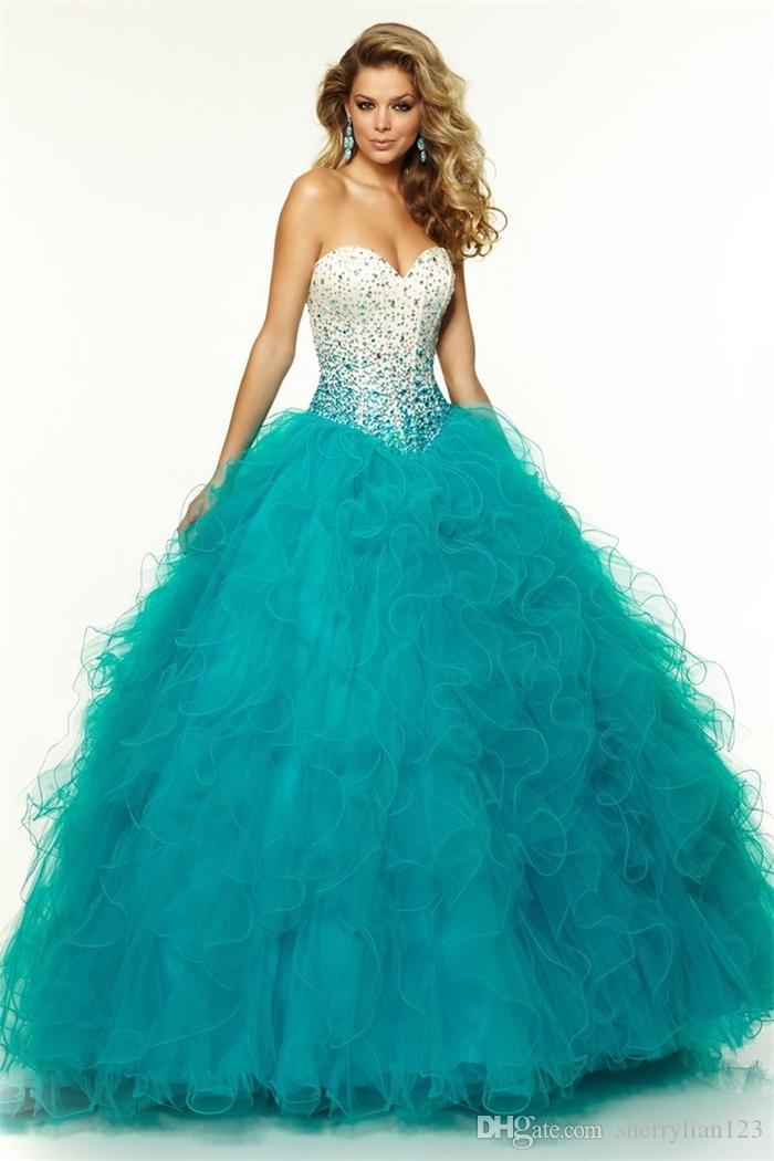 Blue And White Quinceanera Dresses 2015 55950 | PCMODE