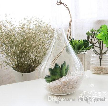 sale taper air plant glass hanging glass vase succulent terrarium kit for home decoration. Black Bedroom Furniture Sets. Home Design Ideas