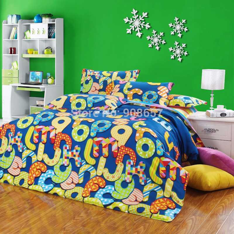 Bright Colored Girls Bedding Pictures To Pin On Pinterest
