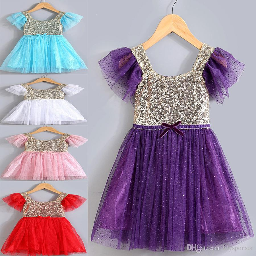 2017 fashion babykidsboutique baby dresses kids frock design pink baby dress for party baby