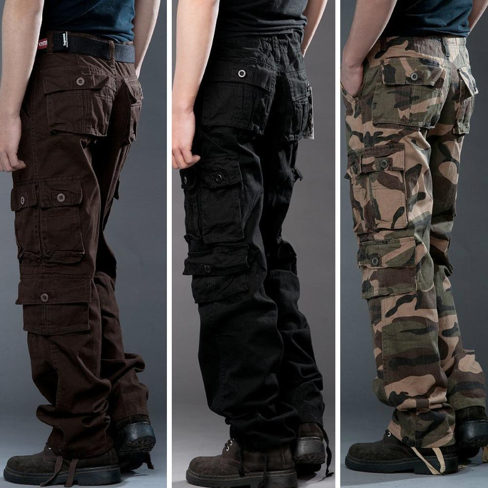 baggy cargo pants men - Pi Pants
