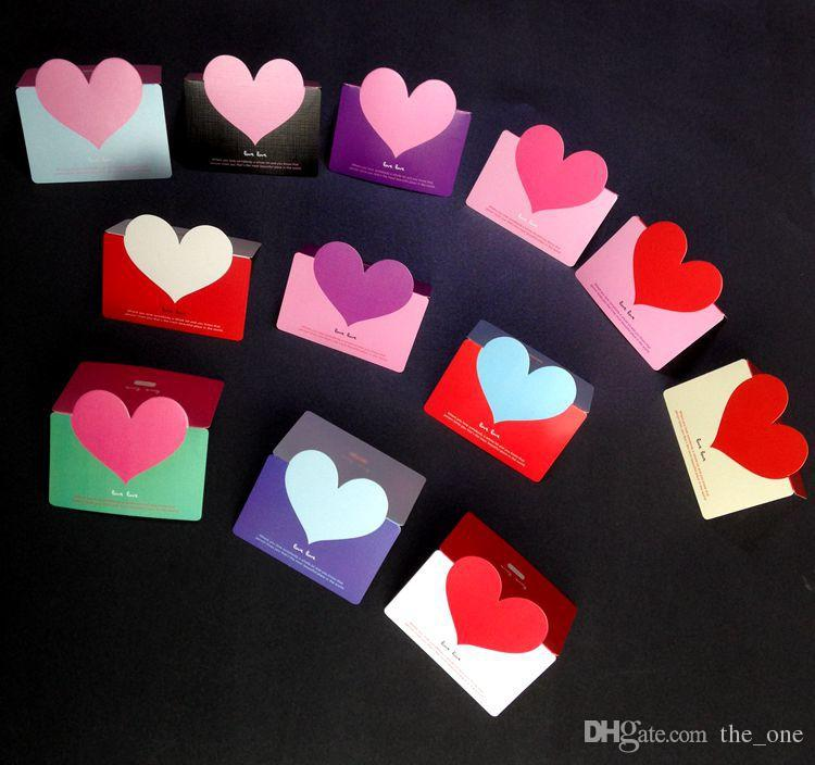 PrettyBaby Creative 3D Love Heart Folding Handmade Greeting Cards – Make a Valentines Card Online