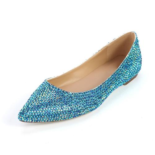 Purple Flat Wedding Shoes Flat Wedding Shoes Pointed