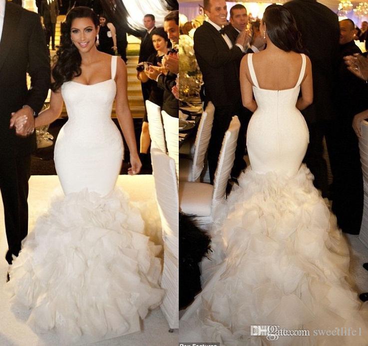Organza Mermaid Wedding – fashion dresses