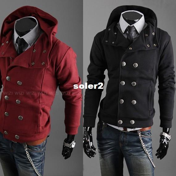 2017 Wholesale Mens Autumn Jackets And Coats Korean Double ...