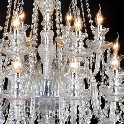 205cm grande lampadario di e14 led lampade moderne di lusso di ...
