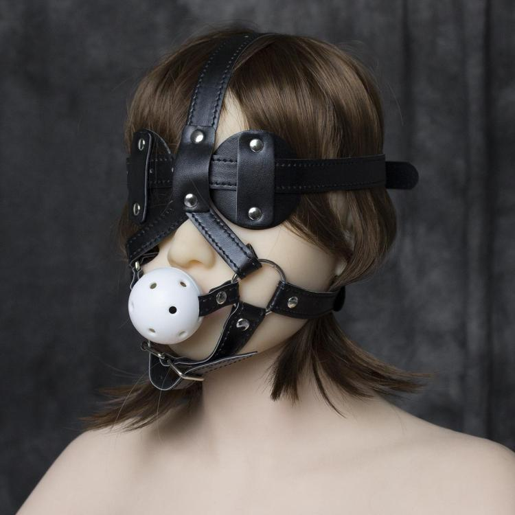Bdsm Blindfold Female Gag