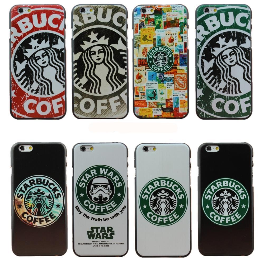 For Iphone 6 6s Plus Case Fashion Starbucks Star Wars