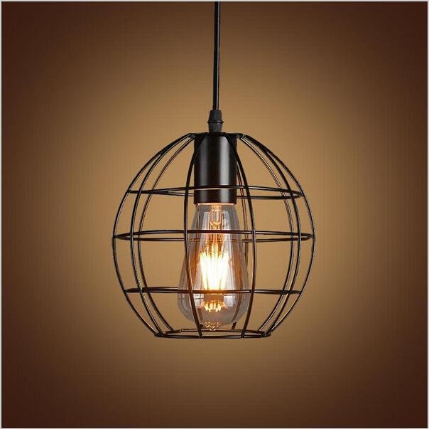 Vintage Iron Pendant Light Industrial Lighting Nordic