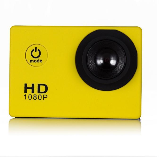 2016new SJ4000 freestyle D001 2 pouces LCD 1080P Full HD HDMI caméra d'action 30 mètres étanche caméra DV casque de sport SJcam DVR00Multicolor