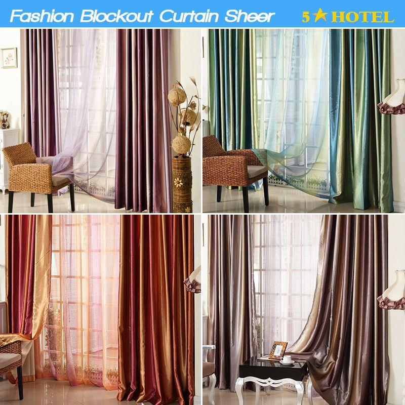 Best fashion blockout thick curtain 3 living room bed for B m living room curtains