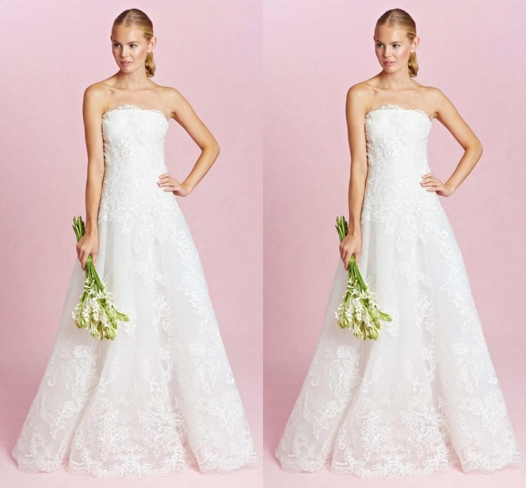 Discount Simple White Vintage Lace Wedding Dresses China