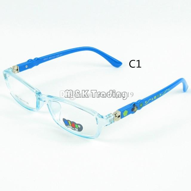 new arrival kids custom optical frame clear lense children glasses light soft material fashion optical eyeglasses square eyewear candy color