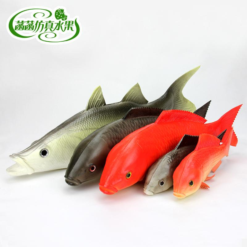 2017 Red Carp Weest Golden Dragon Fish Fake Fish Model Of