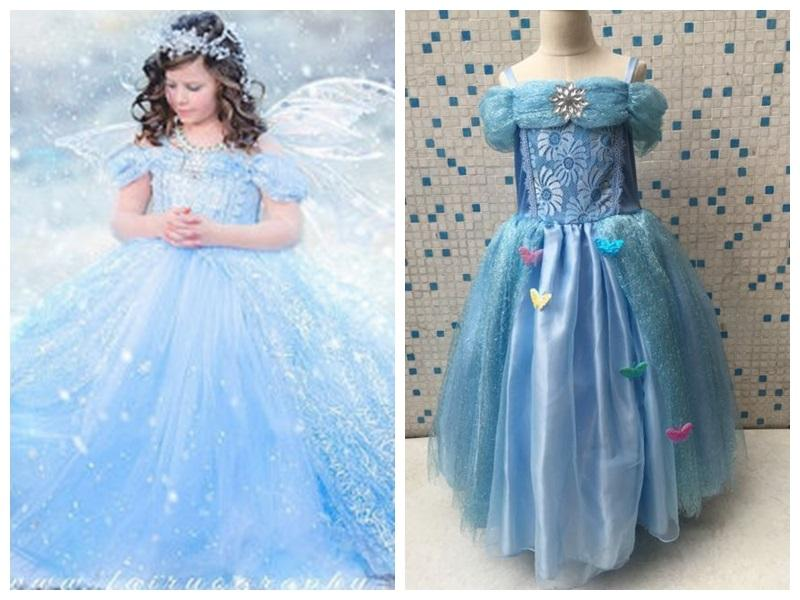 2017 Cinderella Gowns Prom Dresses Snowflake Diamond Girls ...