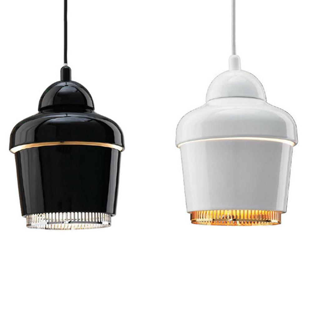 new alvar aalto artek pendant lights a330 led suspension lamps dia 180mm dc 90v 260v artek lighting