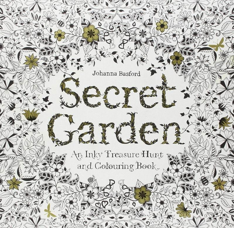 Hot Sale Secret Garden An Inky Treasure Hunt And Coloring Book Adult Children Relax Graffiti Painting