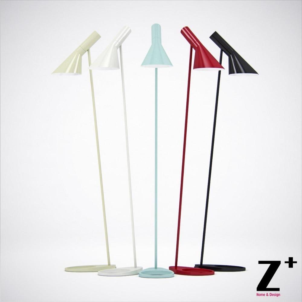 replica item louis poulsen arne jacobsen aj floor lamp e27. Black Bedroom Furniture Sets. Home Design Ideas