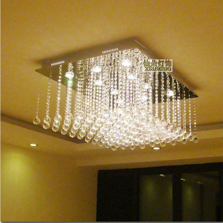 Indoor Ceiling Lights #29: Flower Fairy Lights Lighting Modern Minimalist Living Room Ceiling Lamp Crystal Lamp Bedroom Lamp Lighting Innovative Restaurant Qn6620 Green Pendant Light ...