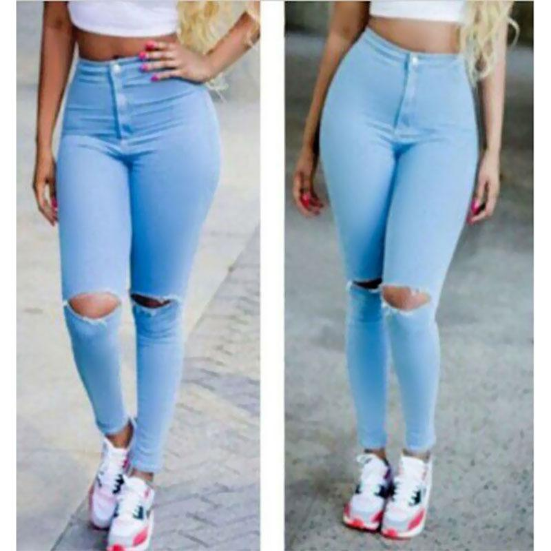 Womens Jeans With Holes - Is Jeans