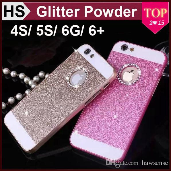 Iphone 5s Gold Glitter Case Iphone 6 Case Glitter Powder