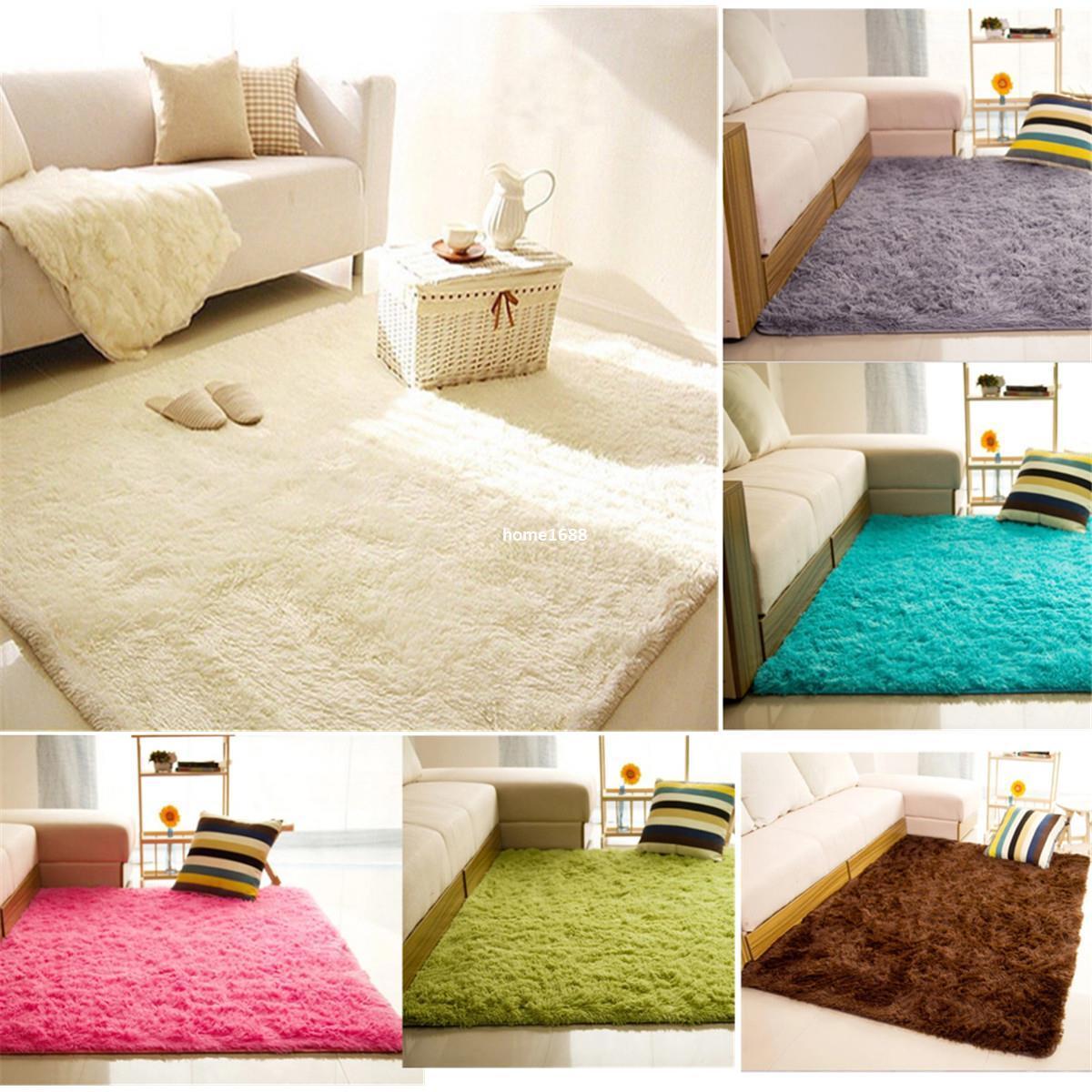Hot High Quality 80*120cm Living Room Bedroom Carpet Rug For Home ...