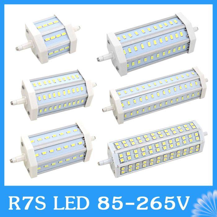 R7s led 10w 15w 20w 25w 30w 78mm 118mm 135mm 189mm 85 265v for R7s led 78mm 100w
