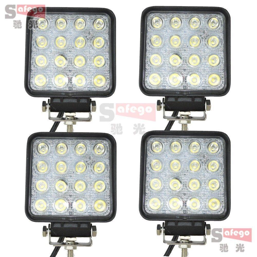 Tractor Light Kits : W tractor led lightbar offroad working lamp fog light