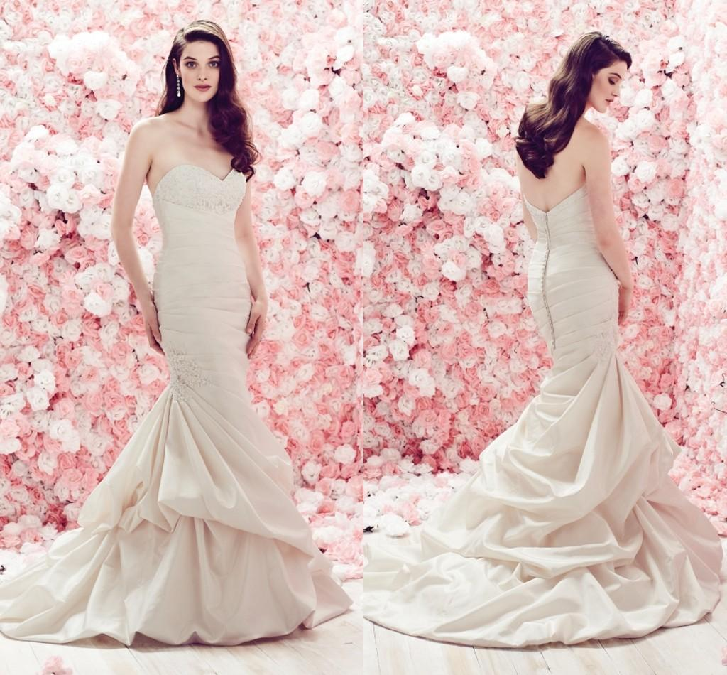 y Mermaid Wedding Dress Patterns With Lace Applique