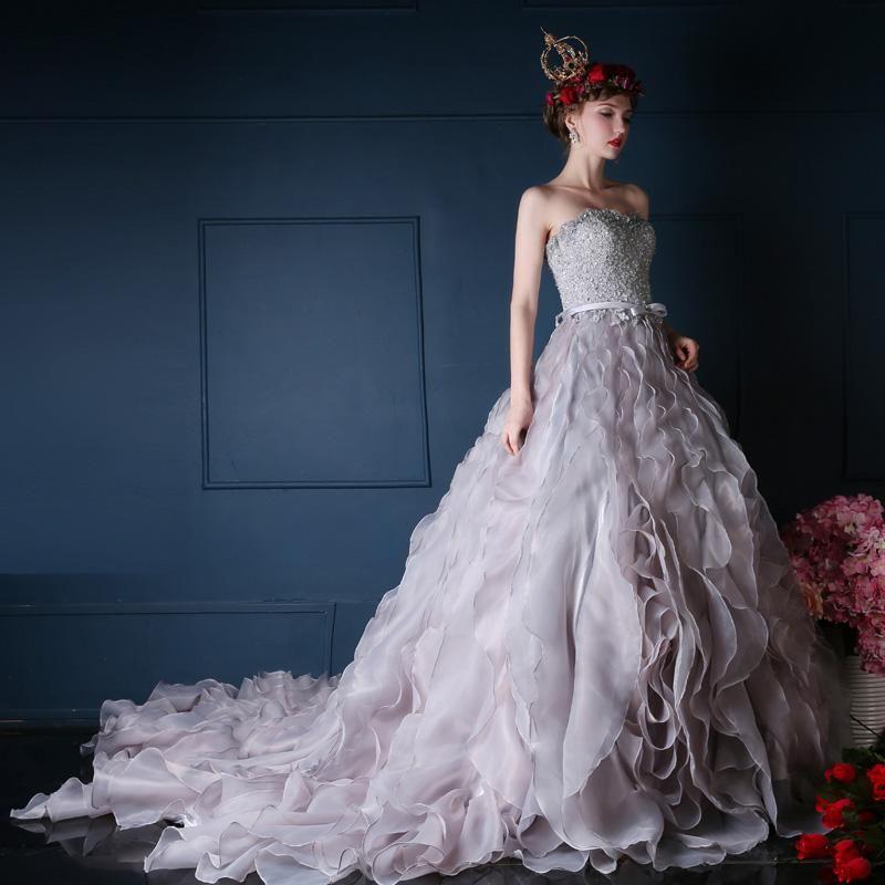 Cheap Colorful Wedding Dresses