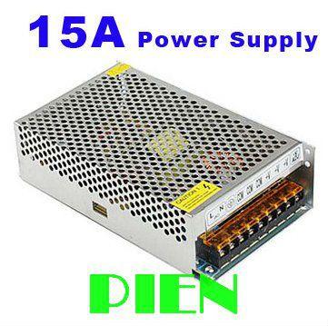 transformateur 12v 15a power adapter 180w switching power supply driver output dc12v input 110v. Black Bedroom Furniture Sets. Home Design Ideas